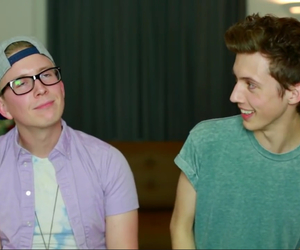 troye sivan, youtube, and tyler oakley image
