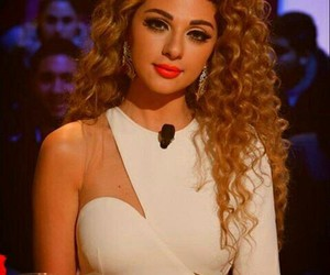 beautiful, myriam fares, and hair image