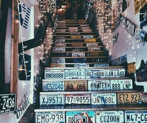 hipster, love it, and stairs image