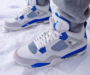 blue, nice, and shoes image