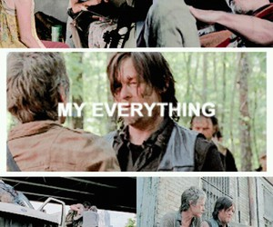 the walking dead and caryl image