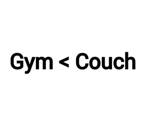 couch, fitness, and food image