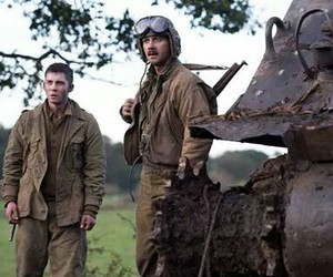 fury, shia labeouf, and soldiers image