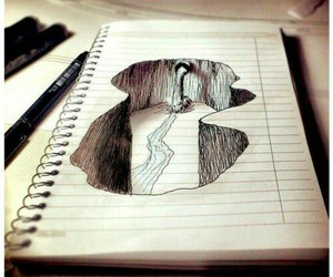 art, drawing, and Paper image