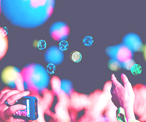 coldplay and concert image