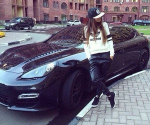 car and nice porches image