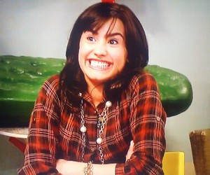demi lovato, disney, and sonny with a chance image