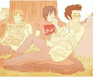 sirius black, marauders, and james potter image