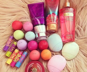 eos, makeup, and baby lips image