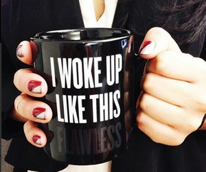 coffee, i, and nails image