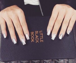 classy, nails, and black image