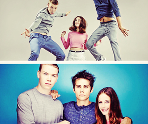 KAYA SCODELARIO, will poulter, and dylan o'brien image