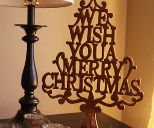 decoration, merry christmas, and u image