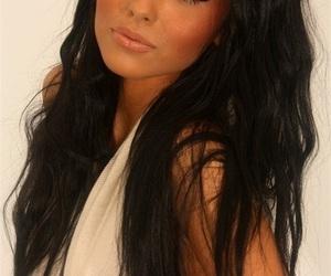 amazing, brunette, and eyes image