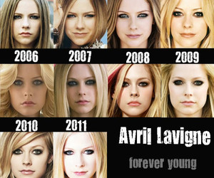 Avril Lavigne, Forever Young, and young image