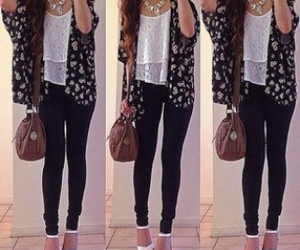 pants, sandals, and cute image
