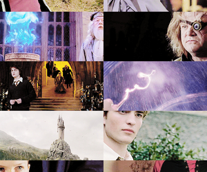 harry potter, cedric diggory, and goblet of fire image
