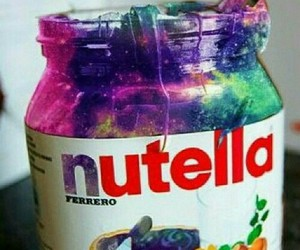 colors and nutella image