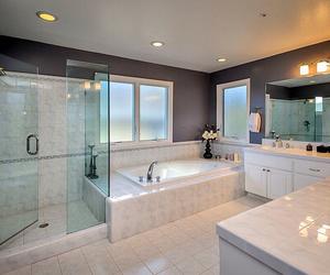 bathroom, inspo, and dream house image