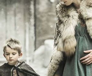 vikings, child, and medieval image