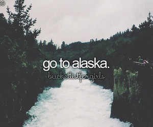 alaska, travel, and bucket list image