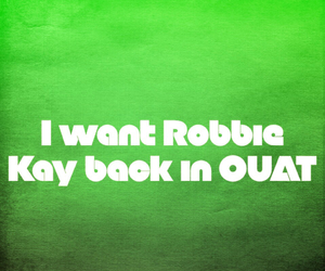 once upon a time, ouat, and robbie kay image