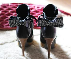 shoes, fashion, and bow image