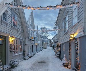 december, lights, and winter wonderland image
