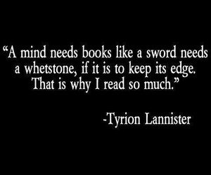 book, game of thrones, and quotes image