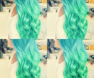color, hair, and long hair image