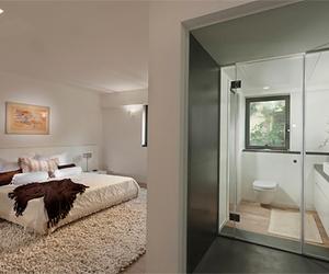 architecture, bathroom, and luxury image