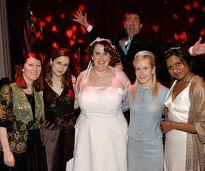 angela kinsey, jenna fischer, and pam beesly image