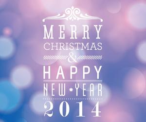 christmas, 2014, and happy image
