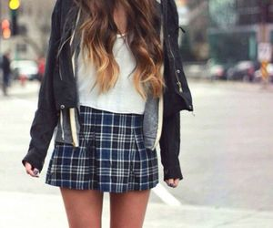 fashion, skirt, and tumblr image