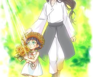 neji, himawari, and naruto image