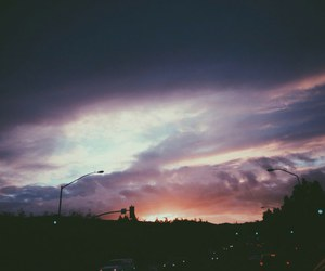 sky, grunge, and clouds image