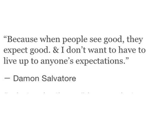 quotes, damon salvatore, and damon image