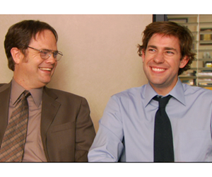dwight, dwight schrute, and jim halpert image