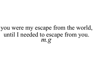 quotes, escape, and poem image