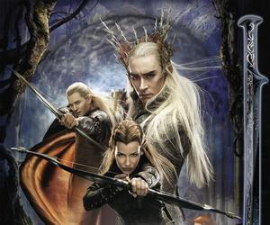hobbit, Legolas, and thranduil image