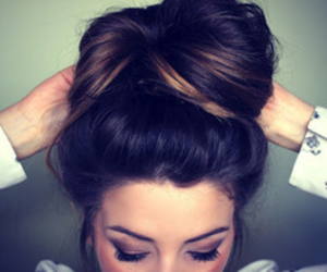 hair, girl, and zoella image