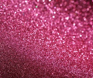 pink, glitter, and wallpaper image