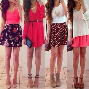 clothes, skirts, and dress image