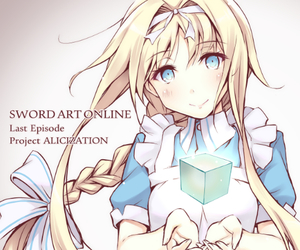 alice, sword art online, and anime image
