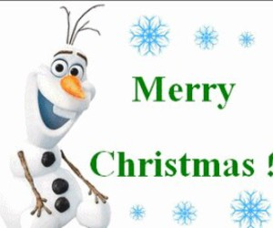 christmas, frozen, and merry christmas image