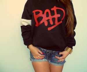 bad, girl, and fashion image
