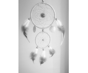 blackandwhite and dreamcatcher image