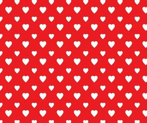 hearts, red and white, and wallpaper image