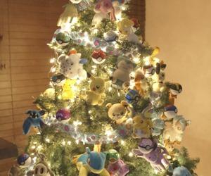 christmas tree and pokemon image