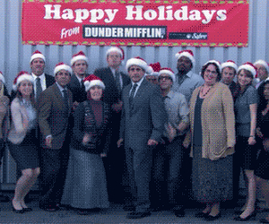 the office, christmas, and funny image